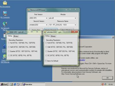 New (hidden) checkbox in qdv.dll
