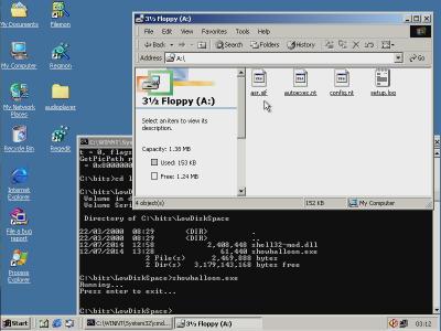 Whistler 2211 ASR Floppy Files